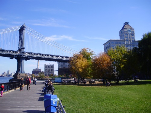 fall at Brooklyn Bridge Park